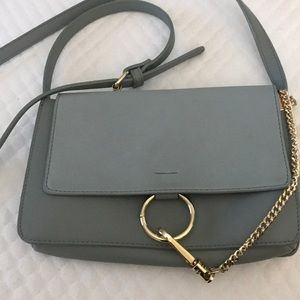 Charming Charlie Bags - Super cute Chloe bag dupe in a muted blue color